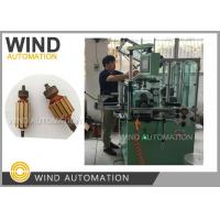Buy cheap No Hook Commutator Armature Dual Flyer Winding Machine Lap Coil Winder from wholesalers
