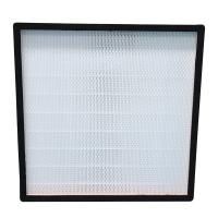 Wholesale Mini Deep Pleated Stainless Steel Hepa Filter H13 H14 High Efficiency Particulate from china suppliers