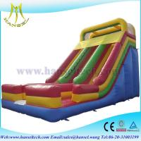 Wholesale Hansel cheap inflatable slides ,boucning castles inflatable slide pool from china suppliers