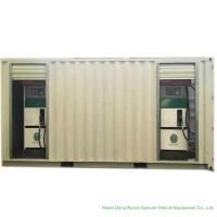 China ISO Standard Mobile Gasoline Station Tank Container 20 FT 10000 -20000 Liters on sale