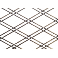 Buy cheap 2Mm Diameter Decorative Wire Mesh / Screen Metal Mesh For Home from wholesalers
