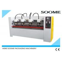 Wholesale Manual Cardboard Slitting Scorering Machine , Corrugated Paper Cutting Machine CE Certification from china suppliers
