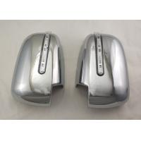 Wholesale Pair Silver Side Door Mirror Cover With LED Signal Light For Mitsubishi Triton L200 2005 - 14 from china suppliers