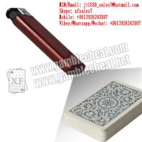 Buy cheap XF brand newest dark red plastic lighter IR camera for marked playing cards and from wholesalers