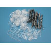 Wholesale Polypropylene Macro Synthetic Fiber Twisted Bundle 54mm Length from china suppliers