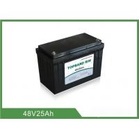 China Long Life Time 48v 25ah Lifepo4 Battery , Lithium Battery Pack For Back Up Power on sale