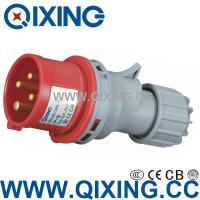 Wholesale industrial plug economic type 230V 16A IP44 QX-252 from china suppliers