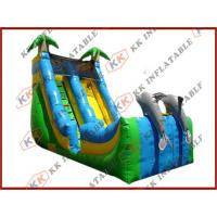 China Commercial Grade Inflatable Water Slides toughness , rent water slides on sale
