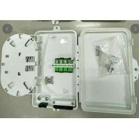 Wholesale ABS FTTH System Fiber Distribution Box With Key 4 Core 4 Port 205*135*40mm from china suppliers