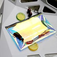 Wholesale Hot - Stamping TPU Film PVC Cosmetic Bag For Girl / Clear Makeup Organizer from china suppliers