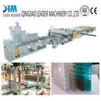 Wholesale multiwall polycarbonate hollow sheet extrusion line from china suppliers