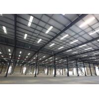 Wholesale Metal Building Construction Projects Industrial Workshop Designs Prefabricated Steel Structure from china suppliers