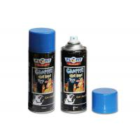 Wholesale Yelloe / Red / Blue Graffiti Spray Paint Fast Dry For Surface Finishing And Mending  on any wall painting from china suppliers
