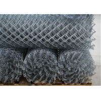 Wholesale Hot Dipped Galvanized Farm Basketball Court 8 Ft Chain Link Fence from china suppliers