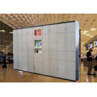 Buy cheap Semi Outdoor 24 Hours Electronic Smart Luggage Lockers for Beach Park / Airport from wholesalers
