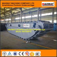 Wholesale Amphibious Pontoon Undercarriage for ZX180, ZX200, ZX210, ZX230 , Model: MAX200PU from china suppliers