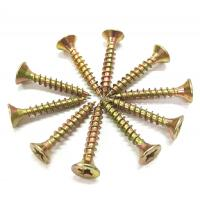 Wholesale Metal Chipboard Flooring Screws , Flat  Csk Self Tapping Screw ST2.5 - ST6.0 Thread from china suppliers