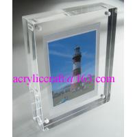 Wholesale Transparent Perspex / PMMA / Acrylic Photo Frame With Magnet 5X7 from china suppliers