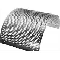 Wholesale 2mm Perforated Stainless Steel Mesh Sheet Round Hole Punched Openings from china suppliers