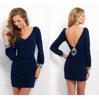 Wholesale Sexy Deep V Back Ladies Party Dresses V Neck for Evening Party from china suppliers