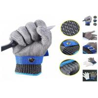 Wholesale Butcher Anti Cutting Stainless Steel Safety Gloves High Strength Multi Size from china suppliers