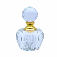 Wholesale Luxury 3ml Empty Crystal Essential Oil Bottle Hot Stamping Shockproof from china suppliers