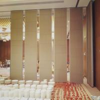 Buy cheap Interior Decoration Sliding Folding Room Partition Walls With Melamine Finish from wholesalers