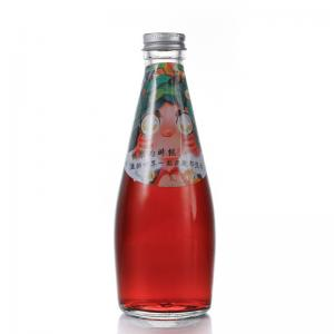 Wholesale 330ml Glass Drink Bottles Japanese Style Beverage Glass Bottles from china suppliers