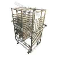 Buy cheap Stainless Steel Pipe Rack Custom Structural Easy Assemble For Electronic from wholesalers