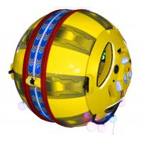 Buy cheap Amusement Park Rides 360 Degree Rotation Space Capsule Kids Electric Car Battery from wholesalers