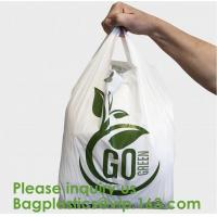 Wholesale Corn Starch Compostable Bag Biodegradable Corn Starch PLA PBAT Fully Compostable Disposable Poo Bags, Sacks, Packaging from china suppliers