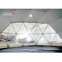 Buy cheap 3-60M big geodesic dome tent for glamping, Luxury Glamping geodesic dome tent, from wholesalers