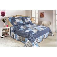 Wholesale Microfiber Material Home Bed Quilts Oblong Shape For Bedroom Decoration from china suppliers