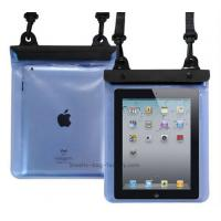 Wholesale Transparent Waterproof Pouch Bag TPU / PVC Materials 100% Sealed For Ipad from china suppliers