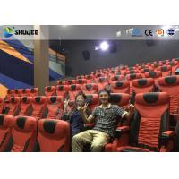 Wholesale Electrical / Hydraulic4D Movie Theater Equipment For Action Movies 4 seats - 100 seats from china suppliers