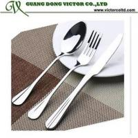 Manufacture Stainless Steel Cutlery Flatware Knife Fork Spoon vary styles
