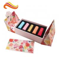 Buy cheap Paperboard Lipstick Skin Care Box Packaging , Eco Friendly Cosmetic Packaging from wholesalers
