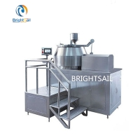 Wholesale 15 KW Horizontal Cylinder HighSpeedMixingGranulator GMP Standard from china suppliers