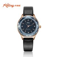 Buy cheap Ketiny Special Glass Stainless Steel Ladies Watch With Diamond Indeces from wholesalers
