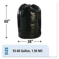 Wholesale 1.5mil Plastic Recyclable Garbage Bags Compostable Cornstarch Material from china suppliers