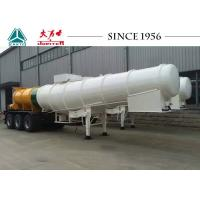 Wholesale 35 Tons Chemical Tank Trailer , Long Distance Acid Tanker Trailer With 3 Axles from china suppliers