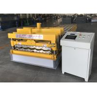 China High Power Glazed Tile Roll Forming Machine , GI / PPGI Metal Roll Forming Machine on sale