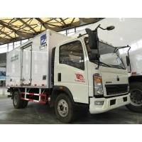 Wholesale Refrigerated Box Truck With Frp Insulation Panels , Refrigerated Truck Loads from china suppliers