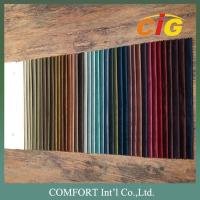 Wholesale 100% Polyester Home Textile Fabric Velvet Plain Pattern And Embossed Pattern from china suppliers