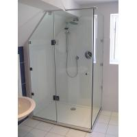 Wholesale ANSIZ97.1 Straight Corner Shower Enclosure Glass Tempered Safety from china suppliers