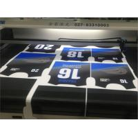 Buy cheap Textile Fabrics Laser Cutting Machine With Camera High Precision Cut Out Designs from wholesalers
