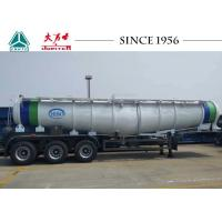 Wholesale V Shaped Acid Tanker Trailer Large Safety Factor For Cross Border Transport from china suppliers