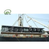 Wholesale 60T Flatbed Semi Trailer Long Cargos 60000 Kgs Max Payload Custom Color from china suppliers