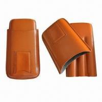 China Leather Travel Cigar Cases on sale