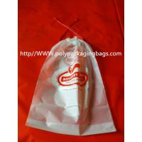 Wholesale Moisture Resistant Drawstring Plastic Bags / Drawstring Storage Bags from china suppliers